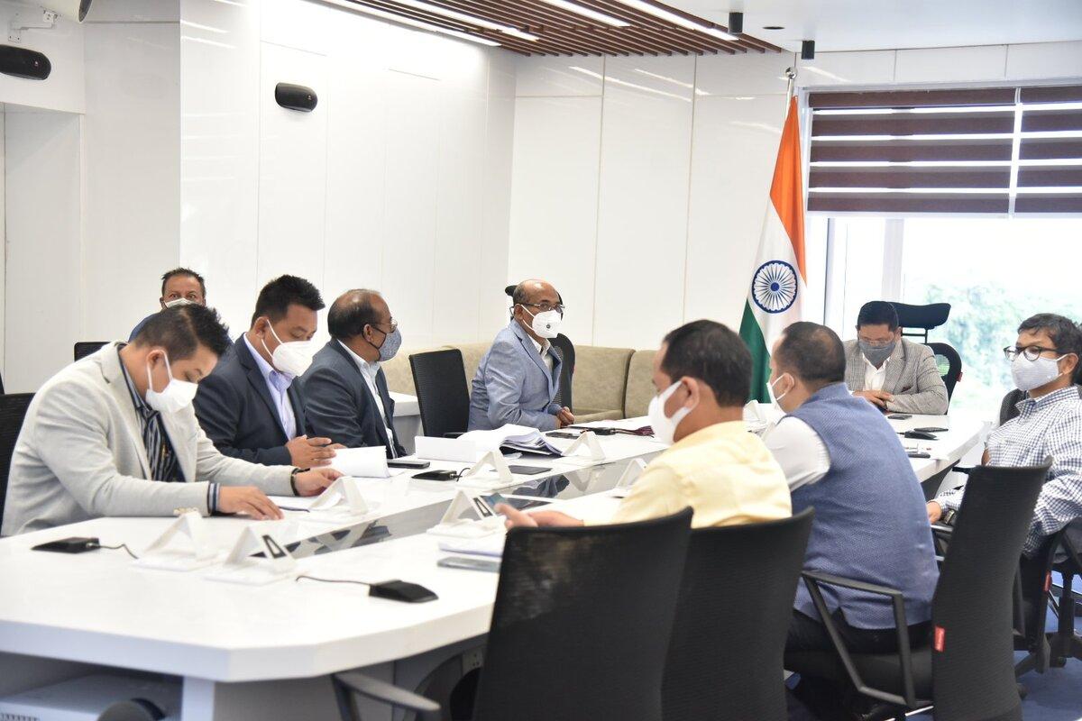 Sixth Schedule amendment: Meghalaya CM meets CEMs of all three ADCs