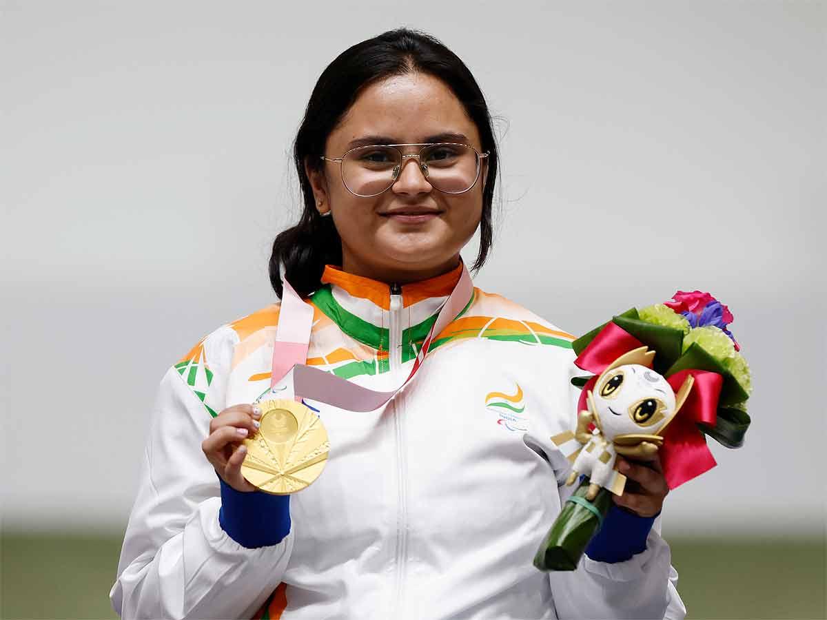 Gold medallist Avani Lekhara to be India's flag-bearer at Paralympics closing ceremony