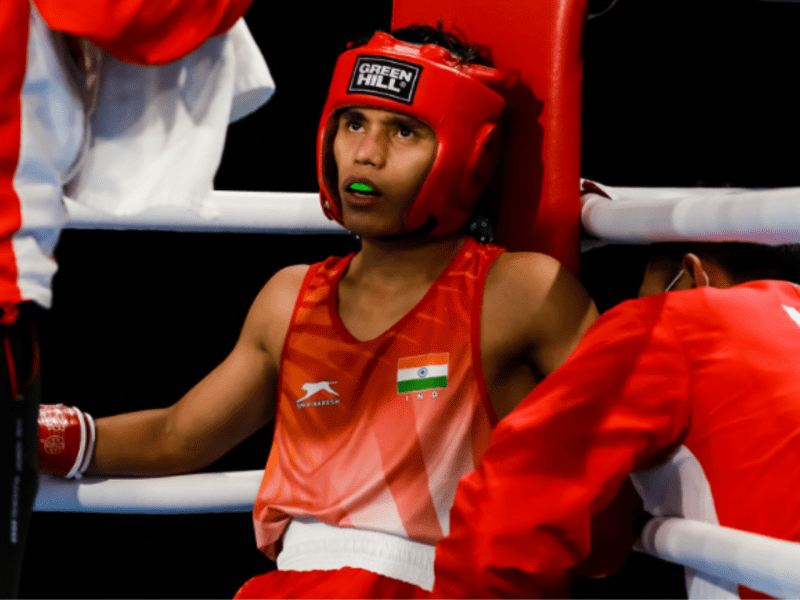 Bishwamitra among four Indians to enter semis at Asian Youth and Junior Boxing