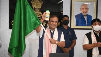 Sarma flags off IFFCO's first consignment of 'nano urea' for Assam