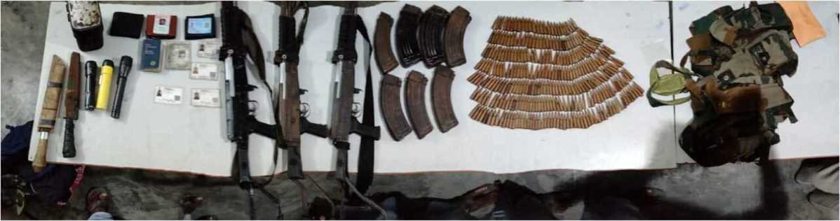 Assam: 4 NSCN-KYA militants held, weapons recovered in Tinsukia