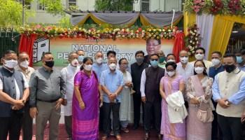 Meghalaya CM Conrad K Sangma inaugurates National People's Party office in Delhi