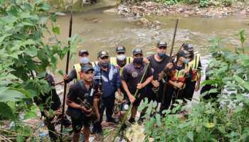 Missing Meghalaya police rifles found in Wahumkhrah river