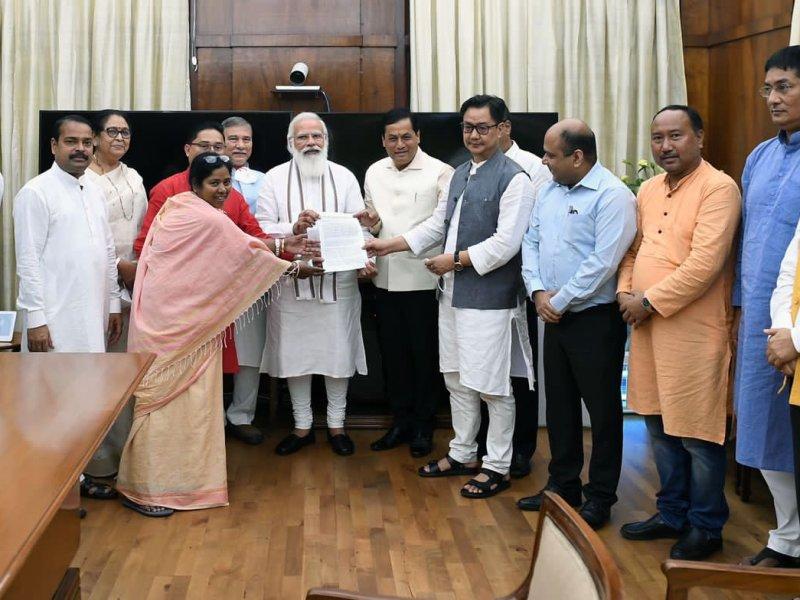 BJP MPs from NE meet PM over recent tension between Assam and Mizoram