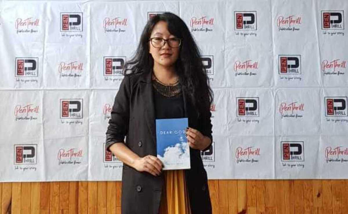 Nagaland: Pfutsero teacher Neitele Mero releases debut book 'Dear God'