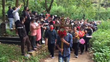 Watch: Ex-HNLC leader Cherishterfield Thangkhiew laid to rest in Shillong