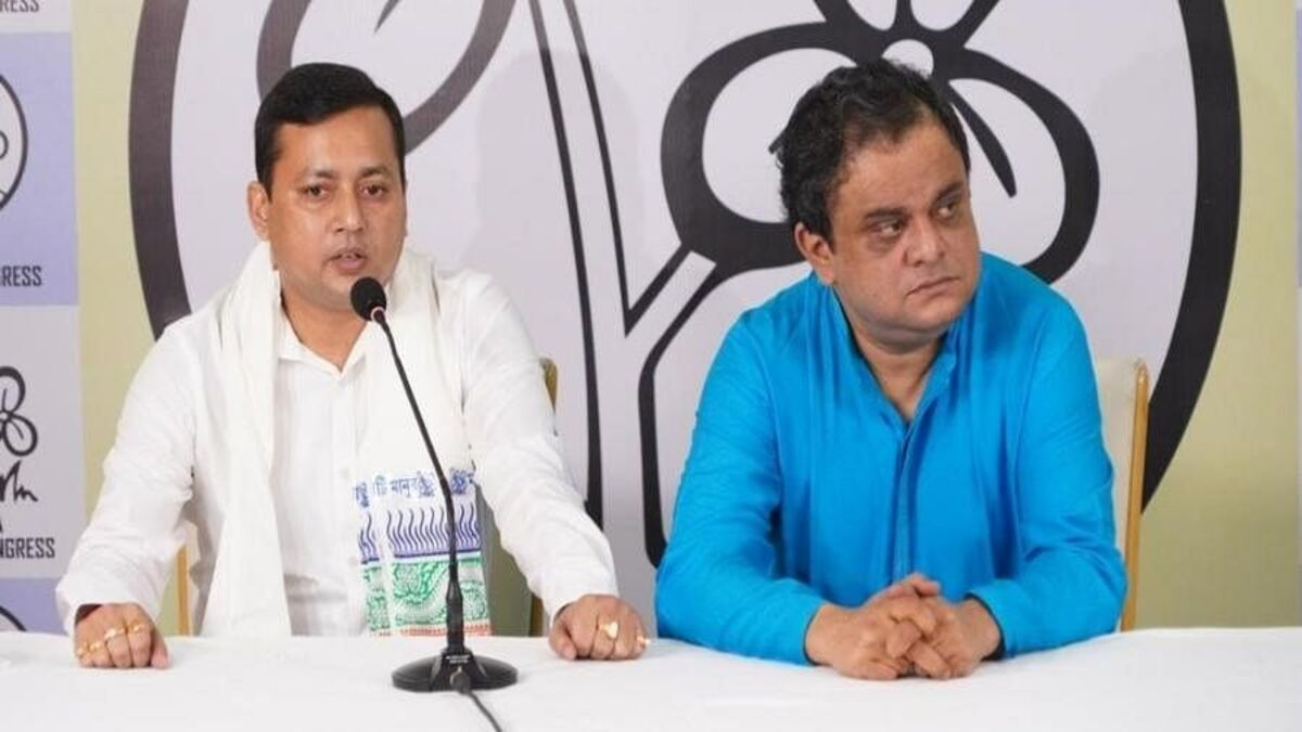 BJP MLA Tanmoy Ghosh joins TMC in West Bengal