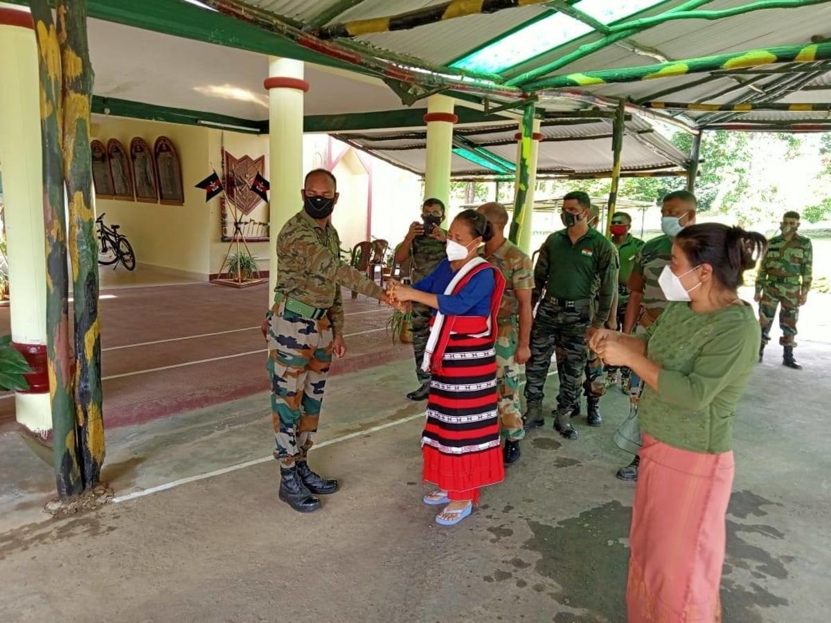 Raksha Bandhan Nagaland BJP
