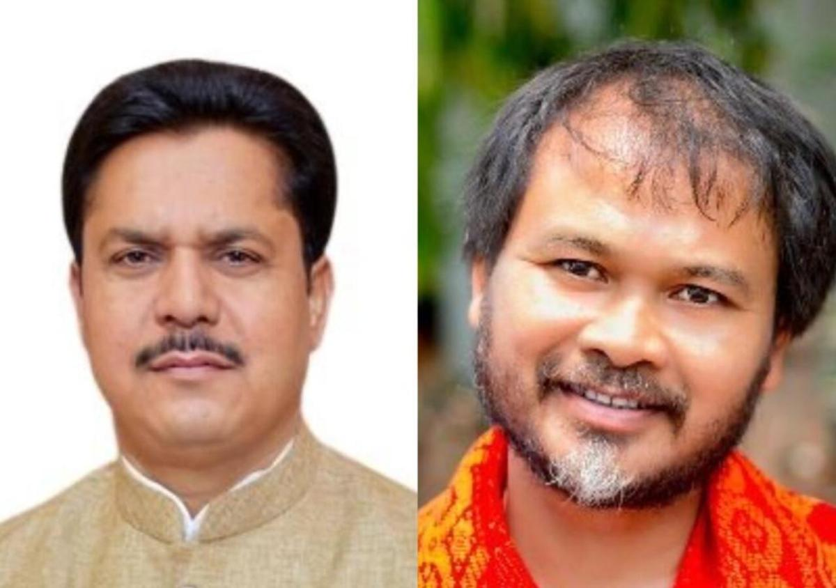 Assam Cong chief Bhupen Borah meets Akhil Gogoi for talks on bypolls
