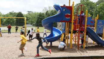 Children need playgrounds now, more than ever