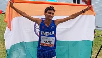 Amit Khatri wins silver in 10,000m race walk at World U-20 Athletics C'ships