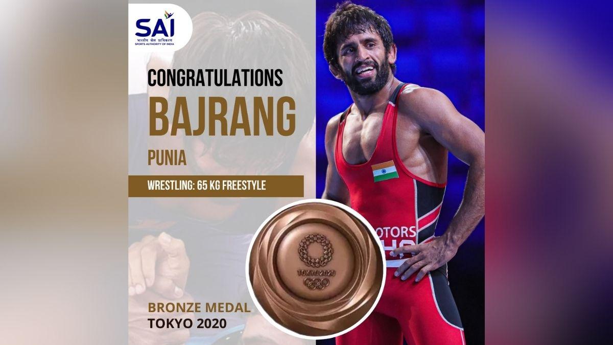 Bajrang wins bronze, India match best result