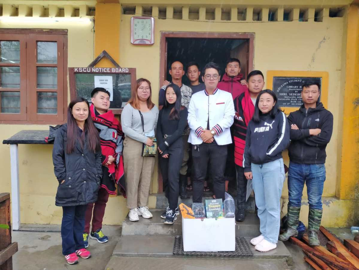 How Nagaland band-turned-club Vision Trinity is promoting reading culture