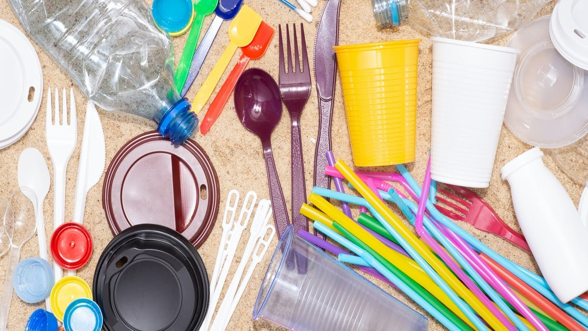 Single-use plastic items to be banned from July 2022