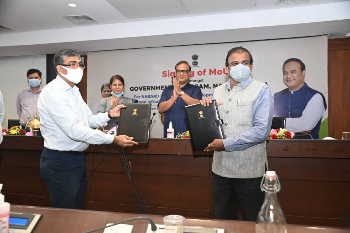 The MoU, with a stake involving Rs 13,200 crore will essentially be used for infrastructural development from NABARD Infrastructure Development Assistance (NIDA) and Rural Infrastructure Assistance to state government (RIAS) in rural and semi urban areas across the state.
