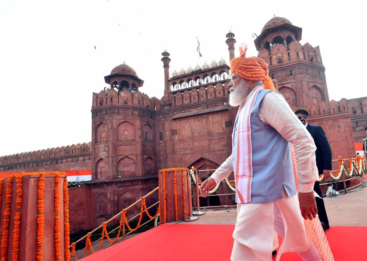 Terror forces dominate for some time, their existence not permanent: PM Narendra Modi