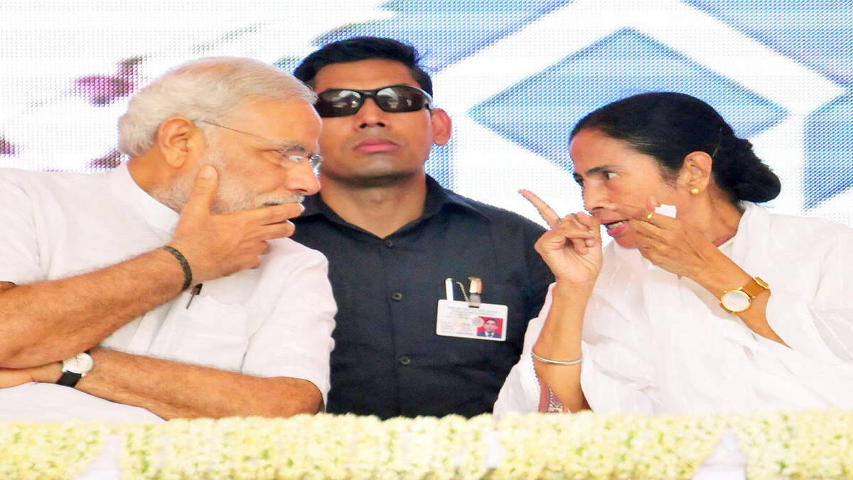 PM Modi dials mamata