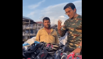 Actor Sonu Sood surprises Srinagar street hawker by turning up at his stall