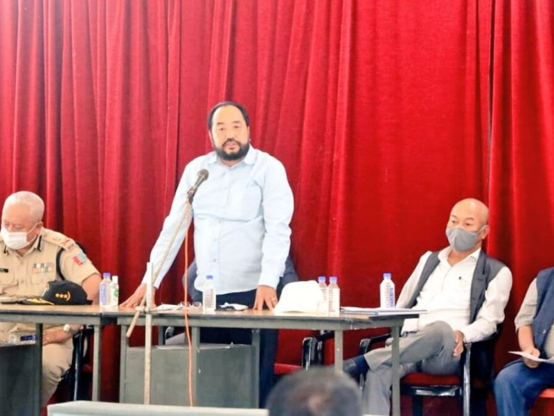 NPF is now 'opposition-less': Nagaland deputy CM Y Patton