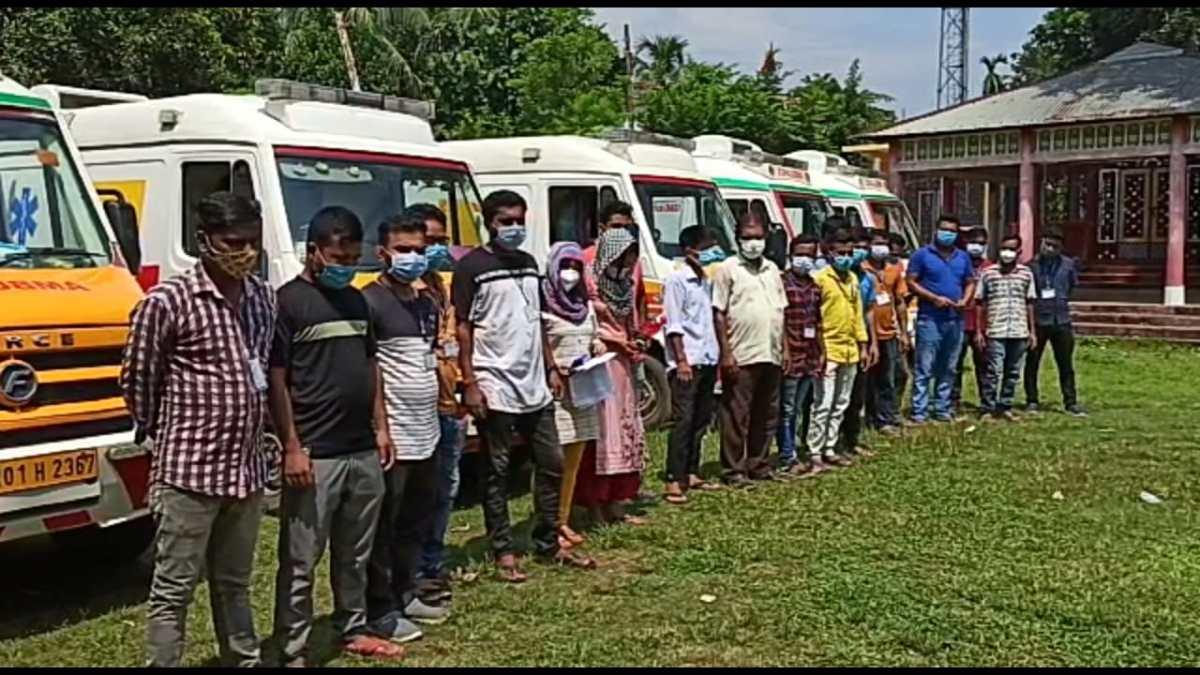 Ambulance Tripura