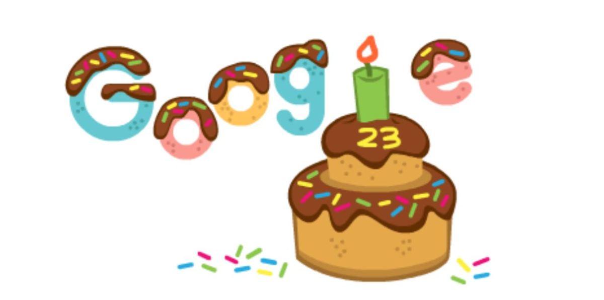 Google birthday date