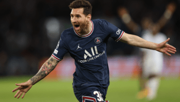 Messi scores superb 1st goal for PSG in 2-0 win against Manchester City