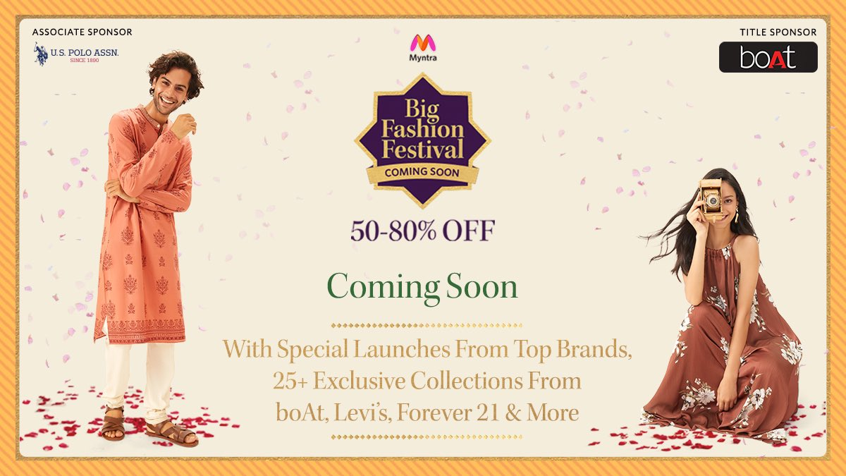 Myntra Big Fashion Festival