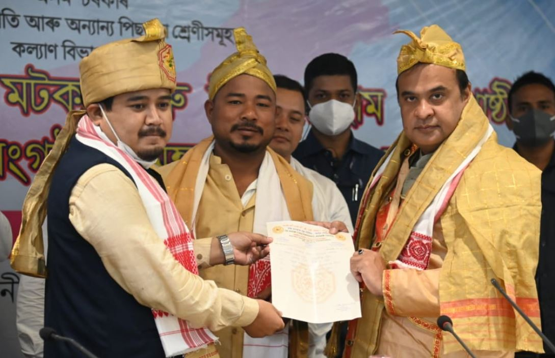 ST status demand: Assam CM meets Tai-Ahom, Matak community leaders