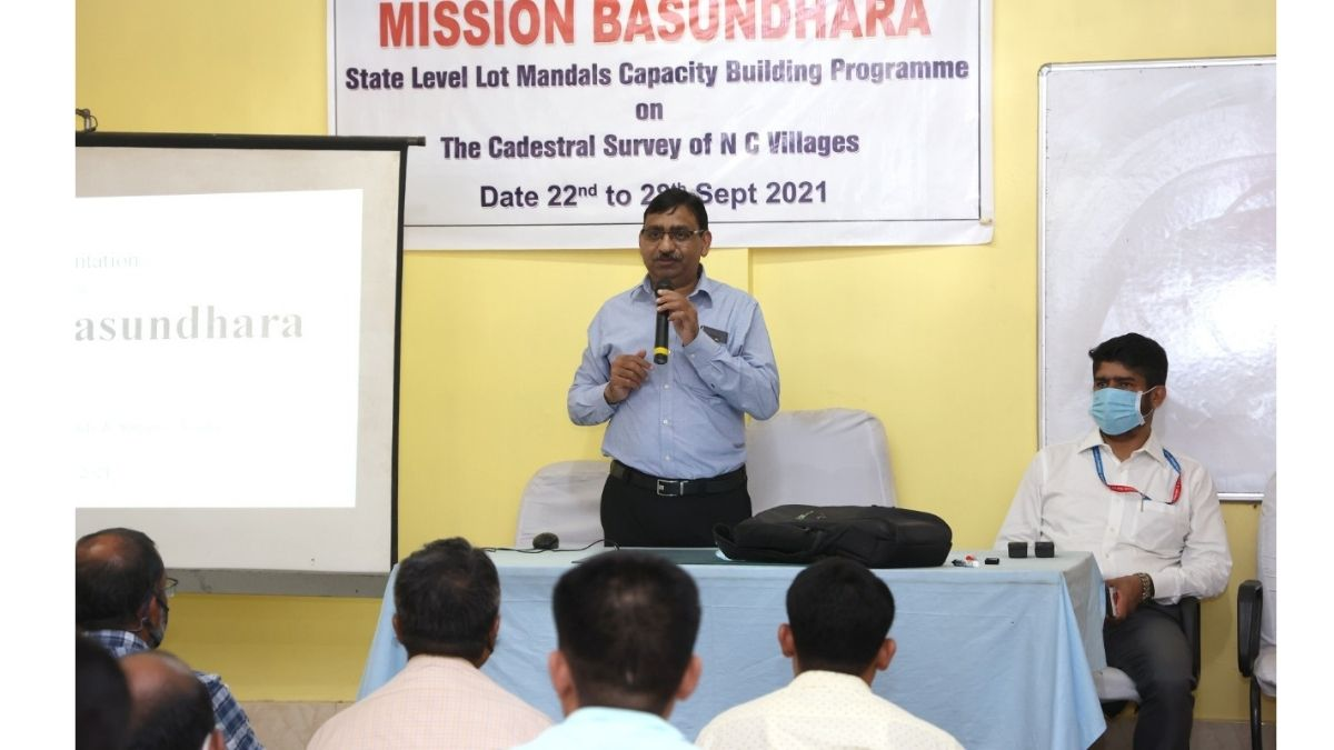 NESAC Director visits Assam Survey & Settlement Training Centre