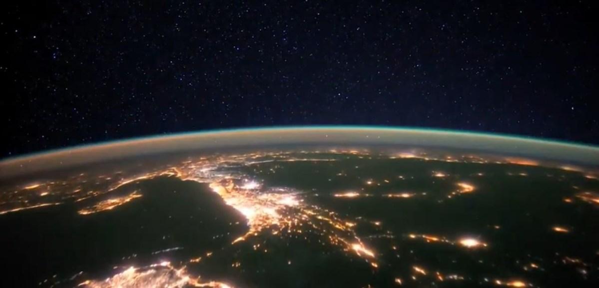 NASA space airglow