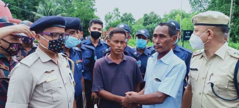 Assam's Mukul Hazarika returns home after 3 months in Bangladesh jail