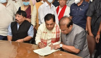 Sonowal files RS nomination from Assam, likely to be elected unopposed