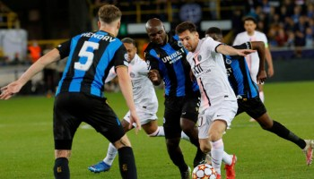 Champions League: Messi and PSG held by Brugge; City, Liverpool, Madrid win