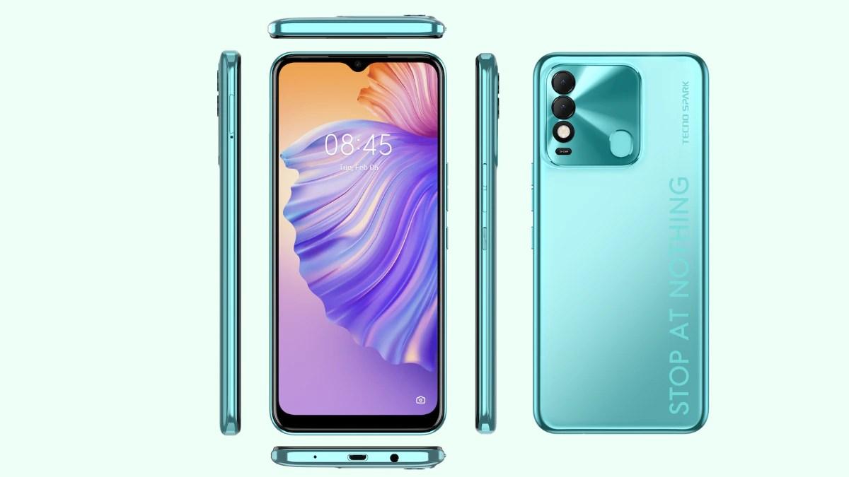 Spark 8 smartphone