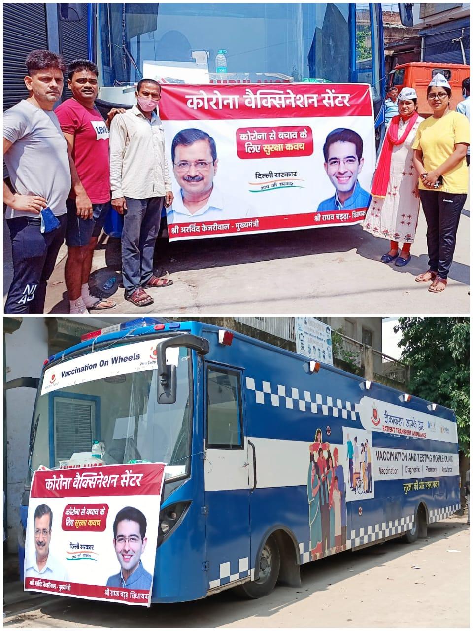 labourers vaccination delhi covid-19