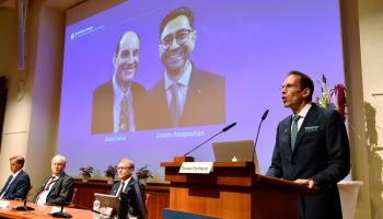 Nobel Prize for medicine honours discovery of temperature, touch receptors