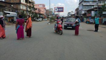 Manipur shutdown Athuan ABonmai murder