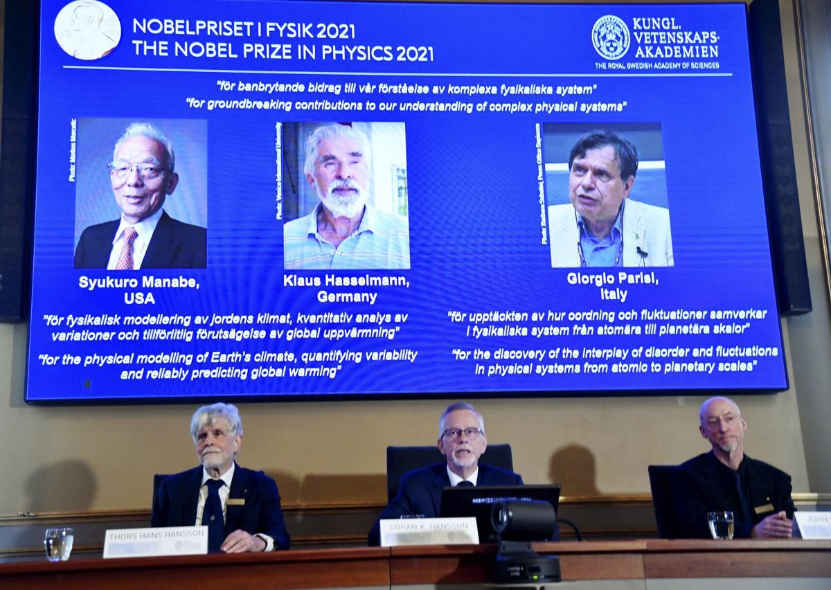 Climate change Nobel physics