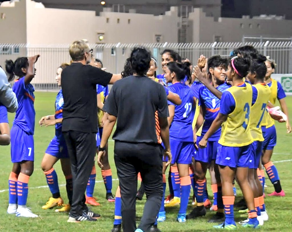 International football: Indian Women victorious over higher-ranked Chinese Taipei with 1-0