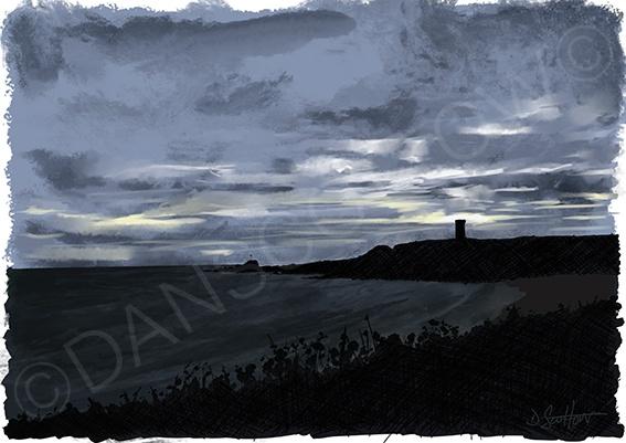 Billowness at dusk