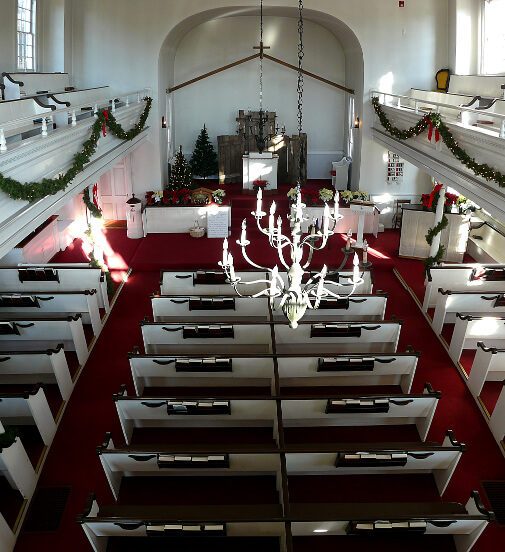 Sanctuary on Christmas Morning