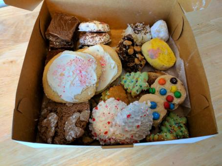 Delicious Christmas Cookies from the Cookie Walk Bake Sale
