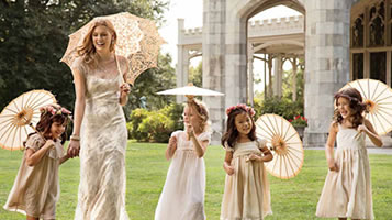 Keeping cool at Summer weddings with Parasols