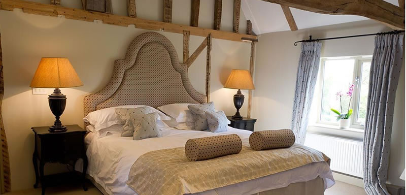 Bridal Suite. Alternative Essex wedding venue - Easton Grange luxury barn wedding venue