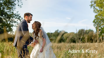 Adam & Kirsty -November wedding at Easton Grange