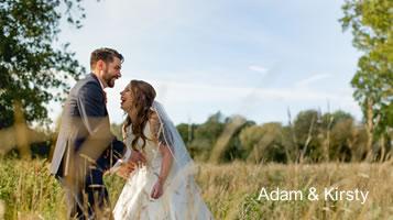 Adam & Kirsty -November wedding at Easton Grange