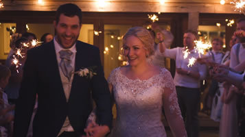 Kirsty & Kyle's Easton Grange wedding