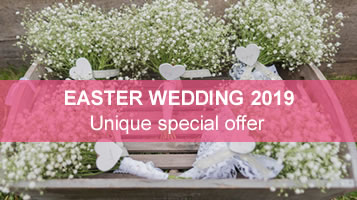 2019 Easter wedding offer from Easton Grange