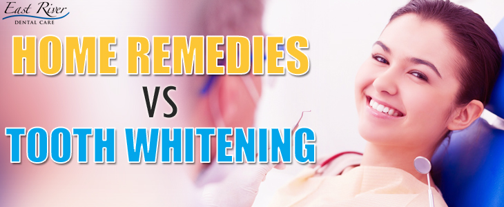 Teeth Whitening vs Home Remedies - The Better Choice - East River Dental Care - Newmarket - Ontario - Canada