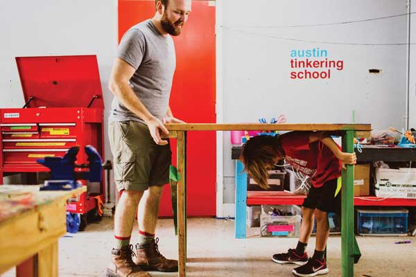 Mini Makers {Austin Tinkering School}
